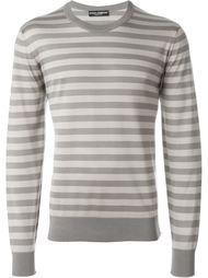 свитер в полоску  Dolce & Gabbana