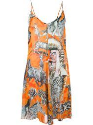 платье с принтом зебр Jean Paul Gaultier Vintage
