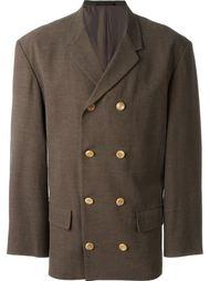 двубортный пиджак Yohji Yamamoto Vintage