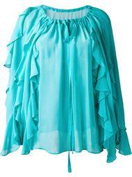 блузка с рюшами DressCamp