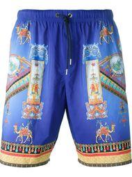 шорты для плавания с принтом  Versace