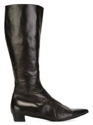 сапоги с заостренным носком Helmut Lang Vintage