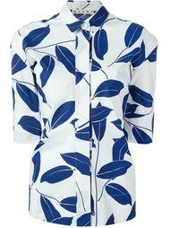 leaf print shirt Marni
