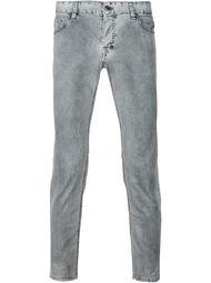выбеленные джинсы  Just Cavalli