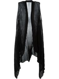 asymmetric knit vest Masnada
