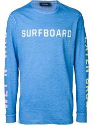 футболка с принтом 'Surfboard' Dsquared2