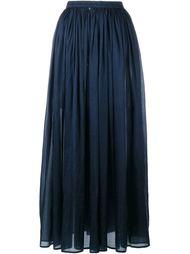 длинная плиссированная юбка Mes Demoiselles