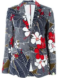 flower print blazer Dsquared2