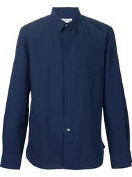 рубашка со схемным воротником Lemaire