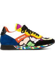 panelled sneakers Etro