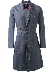 однобортное пальто с поясом Guild Prime