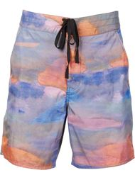 multicolour swim shorts Outerknown