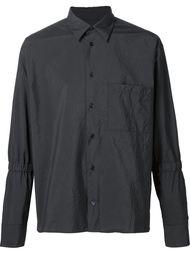 рубашка с мятым эффектом Marni