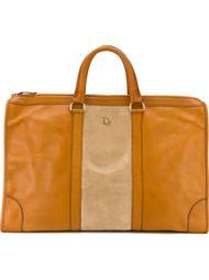 сумка-тоут с панельным дизайном Christian Dior Vintage