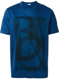 logo print long fit T-shirt Brioni