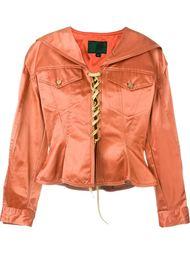 куртка со шнуровкой Jean Paul Gaultier Vintage