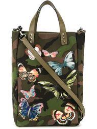 сумка с вышитыми бабочками Valentino Garavani