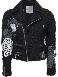 floral embroidery jacket Comme Des Garçons Noir Kei Ninomiya