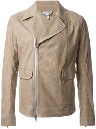 куртка со смещенной молнией Helmut Lang