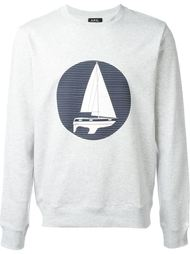'Voilier' printed sweatshirt A.P.C.