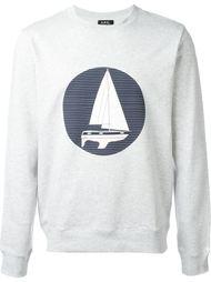 'Voilier' printed sweatshirt A.P.C.