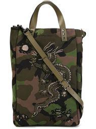 сумка с камуфляжным принтом  Valentino Garavani