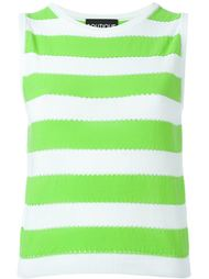 striped tank top Boutique Moschino