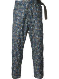 hook detail cropped trousers Jil Sander