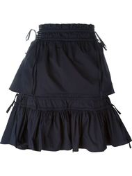 юбка с оборками  Peter Pilotto