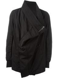драпированная куртка  Rick Owens DRKSHDW