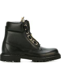 армейские ботинки Balmain