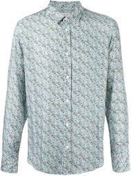 рубашка с цветочным принтом Paul & Joe