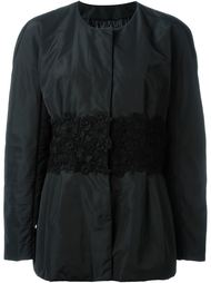 embroidered waist jacket Moncler Gamme Rouge