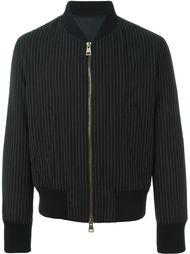 куртка-бомбер в тонкую полоску Ami Alexandre Mattiussi