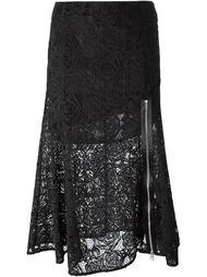 кружевная юбка  McQ Alexander McQueen