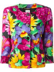 пиджак с цветочным принтом Céline Vintage