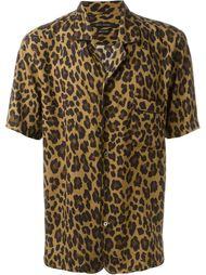 рубашка с леопардовым принтом   Marc Jacobs