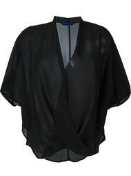 блузка с запахом Demoo Parkchoonmoo