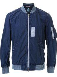 куртка-бомбер с контрастными деталями Guild Prime