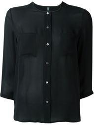 блузка на пуговицах Eleventy