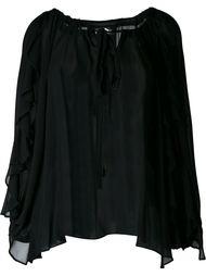 драпированная блузка  DressCamp