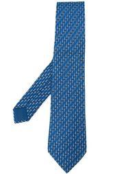 галстук с принтом шипов Hermès Vintage