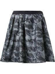 юбка с камуфляжным принтом  Guild Prime