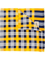 платок в клетку Yves Saint Laurent Vintage