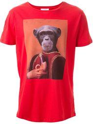 monkey print T-shirt Les Benjamins