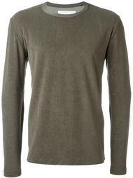 фактурный удлиненный свитер  Our Legacy