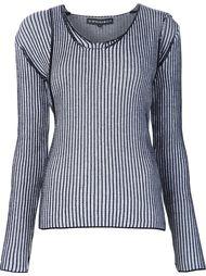 двойной асимметричный свитер Y / Project