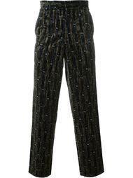 велюровые брюки Comme Des Garçons Vintage