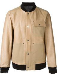 куртка-бомбер с передними карманами T By Alexander Wang