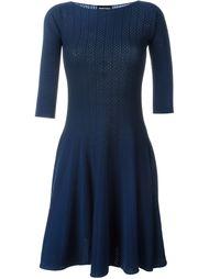вязаное платье кафтан  Emporio Armani